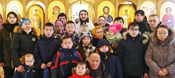 Миссионерская поезда в отдаленные поселки Надымского района